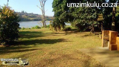 The indigenous garden at the Umzimkulu Marina